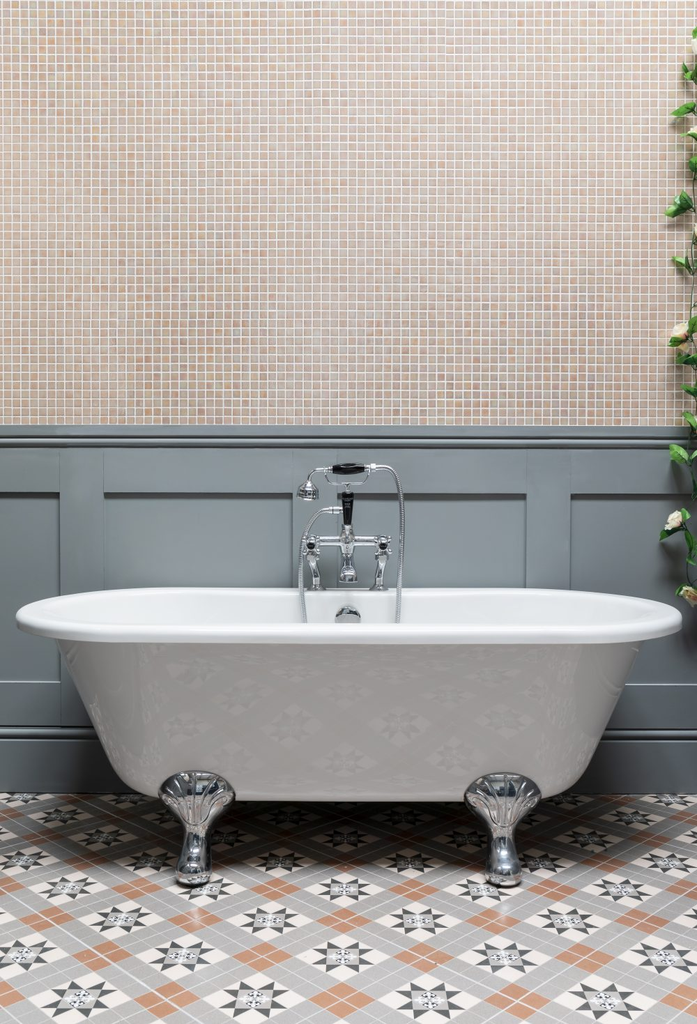 The Leinster Bath with Clattergate Tiles